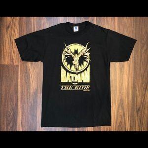 Vintage 1994 Batman 'The Ride' Six Flags T-Shirt